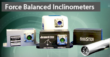 Jewell Forced Balance Inclometers
