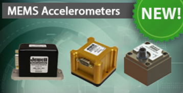 Jewell MEMS Accelerometers